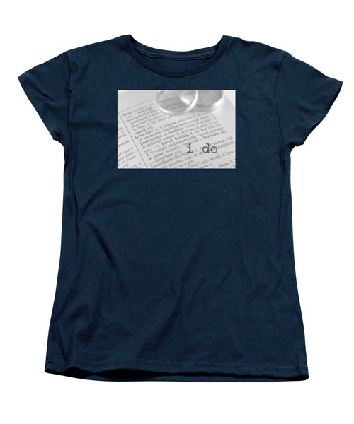 Women's T-Shirt (Standard Cut) featuring the photograph I Do by Bobby Villapando