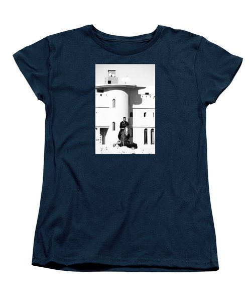 I Gotta Leave This Town Women's T-Shirt (Standard Cut) by Jez C Self