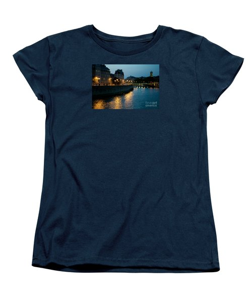 Women's T-Shirt (Standard Cut) featuring the photograph I Love Paris by Sandy Molinaro