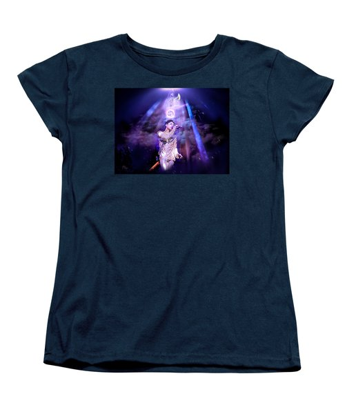 Women's T-Shirt (Standard Cut) featuring the photograph I Love You - Prince by Glenn Feron