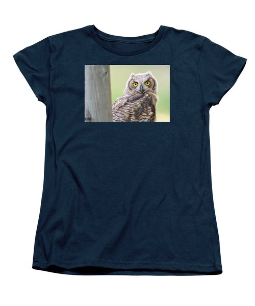 I See You Women's T-Shirt (Standard Cut) by Scott Warner