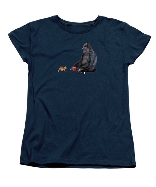 I Should Koko Wordless Women's T-Shirt (Standard Cut) by Rob Snow