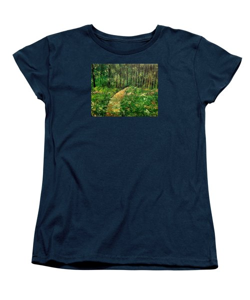 I Think It's Time For Our Walk Women's T-Shirt (Standard Cut) by Lisa Aerts