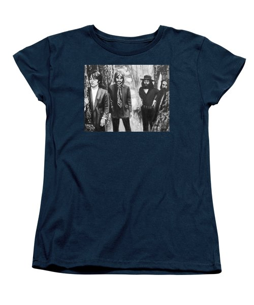 And In The End Women's T-Shirt (Standard Cut) by Rebecca Glaze