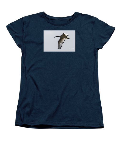 Ibis In Flight Women's T-Shirt (Standard Cut) by Pravine Chester