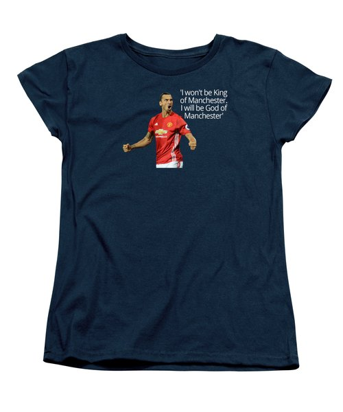 Ibrahimovic Women's T-Shirt (Standard Cut) by Vincenzo Basile
