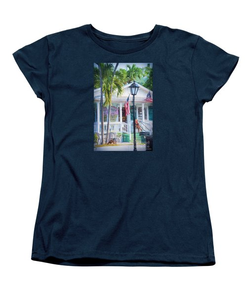 Ice Cream In Key West Women's T-Shirt (Standard Cut) by Linda Olsen