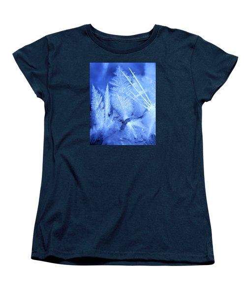 Ice Crystals Women's T-Shirt (Standard Cut)