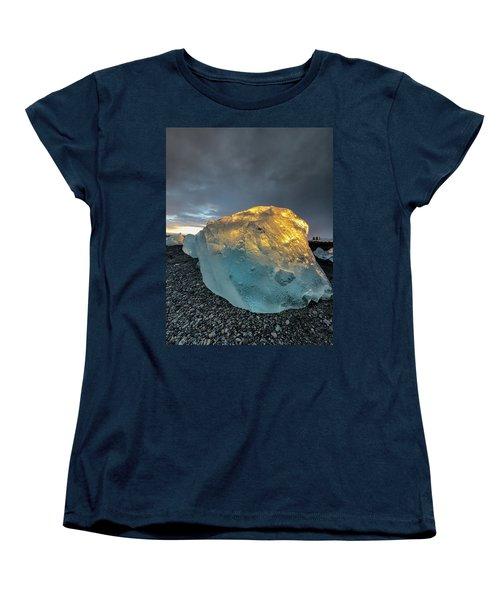 Ice Fish Women's T-Shirt (Standard Cut) by Allen Biedrzycki