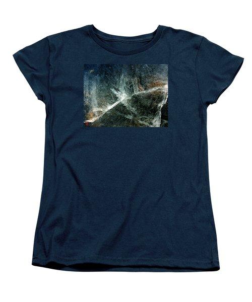 Ice Winter Denmark Women's T-Shirt (Standard Cut) by Colette V Hera Guggenheim