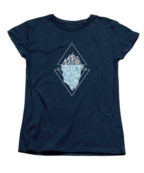 Iceberg Women's T-Shirt (Standard Cut) by Barlena