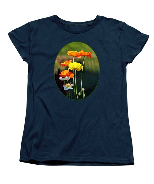 Iceland Poppies In The Sun Women's T-Shirt (Standard Fit)