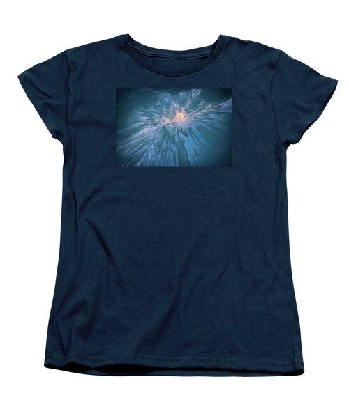 Women's T-Shirt (Standard Cut) featuring the photograph Icicles by Rick Berk