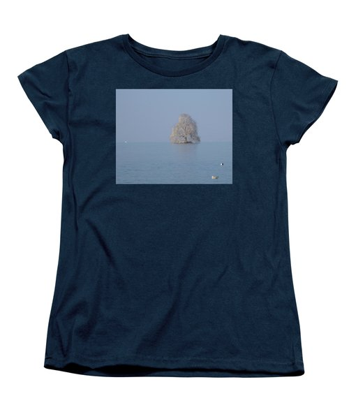 Icy Isolation Women's T-Shirt (Standard Cut) by Christin Brodie