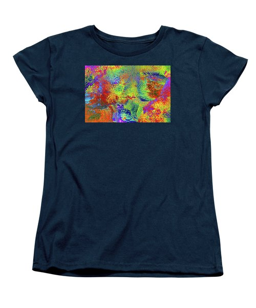 Women's T-Shirt (Standard Cut) featuring the photograph Icy Kaleidoscope by Tony Beck