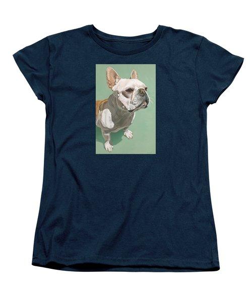 Ignatius Women's T-Shirt (Standard Cut) by Nathan Rhoads
