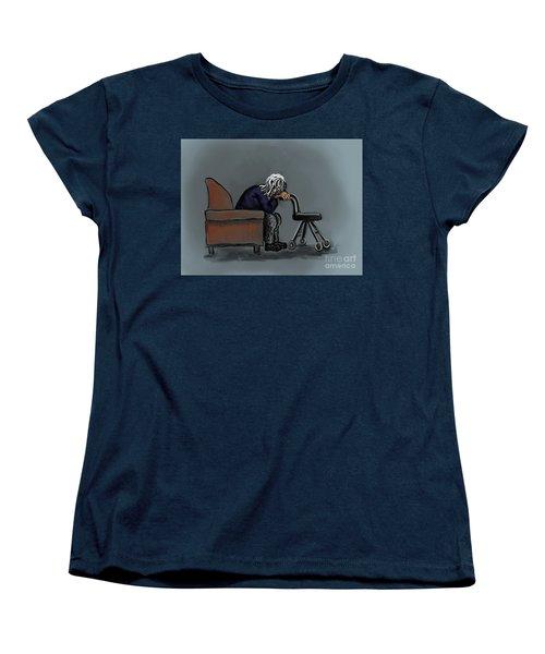 Ignored Women's T-Shirt (Standard Cut) by Dawn Senior-Trask