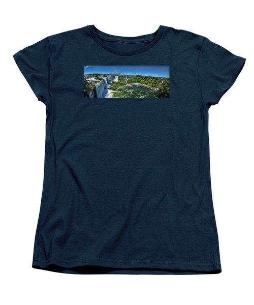 Iguazu Panorama Women's T-Shirt (Standard Cut) by David Gleeson