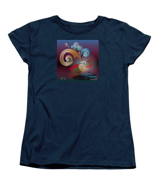 Illusion Of Joy Women's T-Shirt (Standard Cut) by Leo Symon