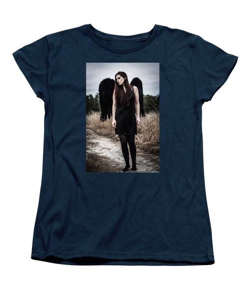 Women's T-Shirt (Standard Cut) featuring the photograph I'm No Angel by Brian Hughes