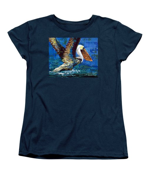 Women's T-Shirt (Standard Cut) featuring the painting Im Outa Here by Suzanne McKee