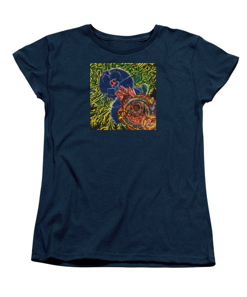 Immunity Activation Microbiology Landscapes Series Women's T-Shirt (Standard Cut) by Emily McLaughlin