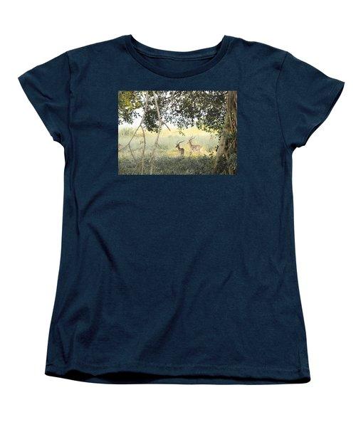 Impala Women's T-Shirt (Standard Cut) by Patrick Kain