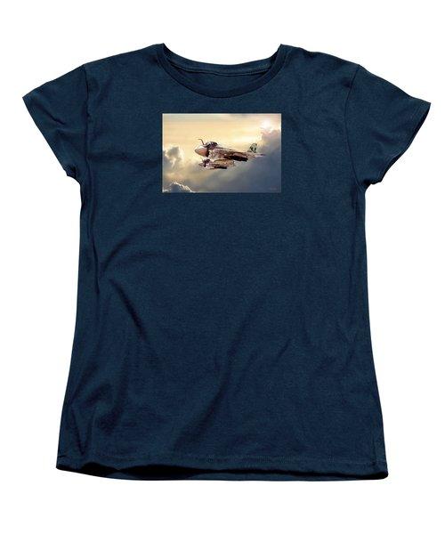 Impending Intrusion Women's T-Shirt (Standard Cut) by Peter Chilelli