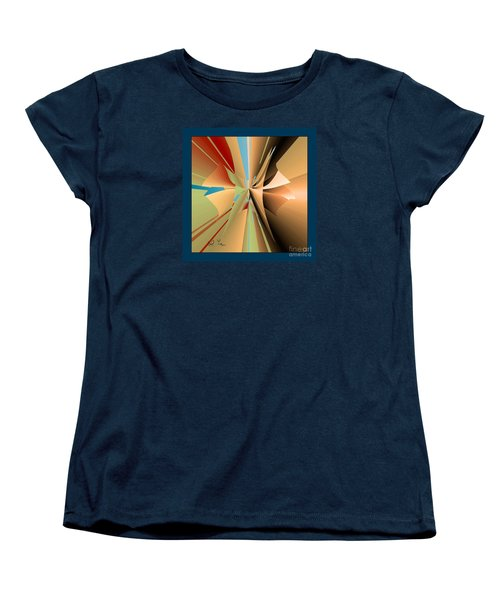 Women's T-Shirt (Standard Cut) featuring the digital art Imperfection And Harmony by Leo Symon