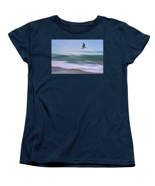 In Flight Women's T-Shirt (Standard Cut) by Laura Fasulo