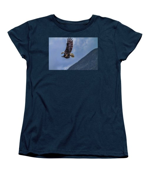 In Flight Lunch Women's T-Shirt (Standard Cut) by Timothy Latta