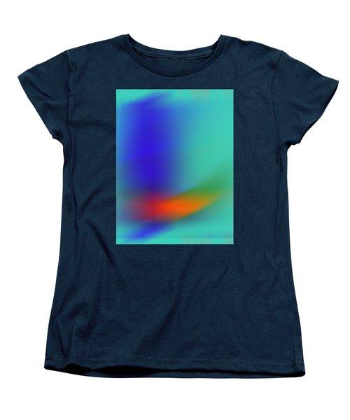 Women's T-Shirt (Standard Cut) featuring the digital art In Flight by Prakash Ghai