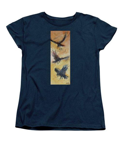 In Flight Women's T-Shirt (Standard Cut) by Ron Stephens