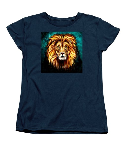 Women's T-Shirt (Standard Cut) featuring the digital art In Honor Of Cecil by Karen Showell