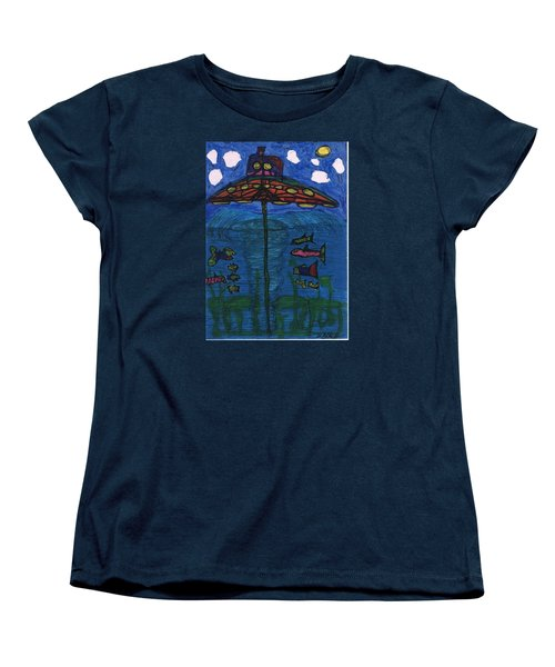In Search Of Life Women's T-Shirt (Standard Cut) by Darrell Black