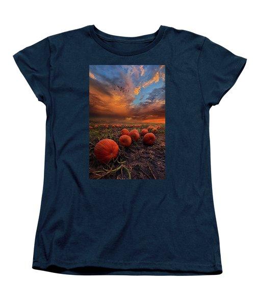 In Search Of The Great Pumpkin Women's T-Shirt (Standard Cut) by Phil Koch