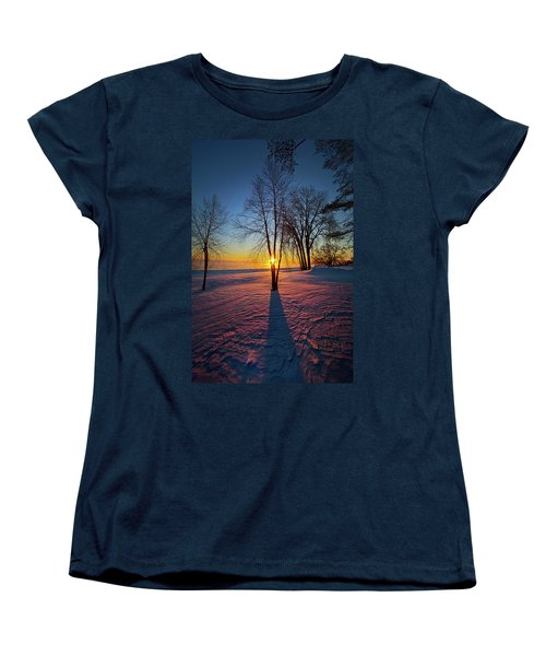 Women's T-Shirt (Standard Cut) featuring the photograph In That Still Place by Phil Koch