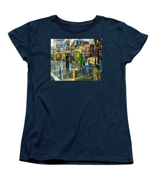 Women's T-Shirt (Standard Cut) featuring the photograph In The City by Vladimir Kholostykh