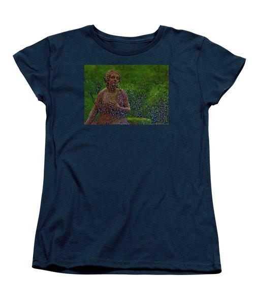 In The Garden Women's T-Shirt (Standard Cut) by Rowana Ray