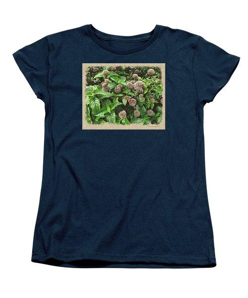 Women's T-Shirt (Standard Cut) featuring the photograph In The Highline Garden by Joan  Minchak