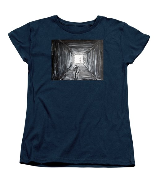 In The Light Of The Living Women's T-Shirt (Standard Cut) by Antonio Romero