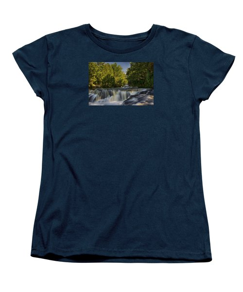 In The Middle Of The Middle Branch Women's T-Shirt (Standard Cut) by Dan Hefle