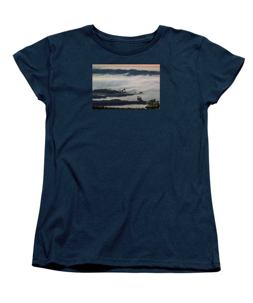 In The Mist 2 Women's T-Shirt (Standard Cut) by Jean Bernard Roussilhe