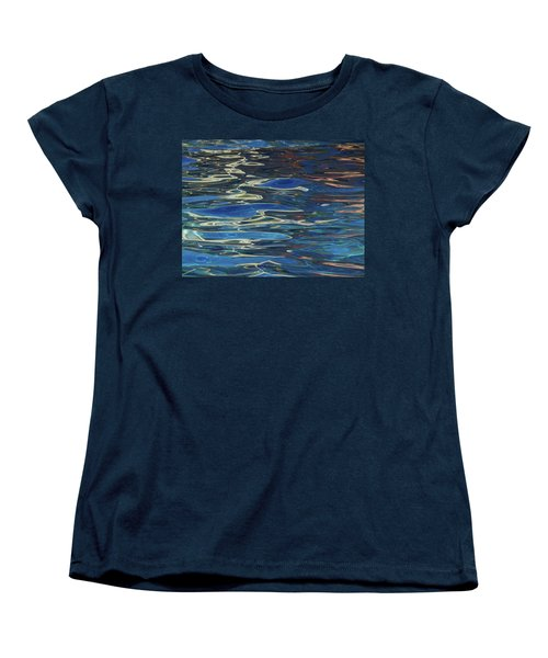 In The Pool Women's T-Shirt (Standard Cut) by Evelyn Tambour