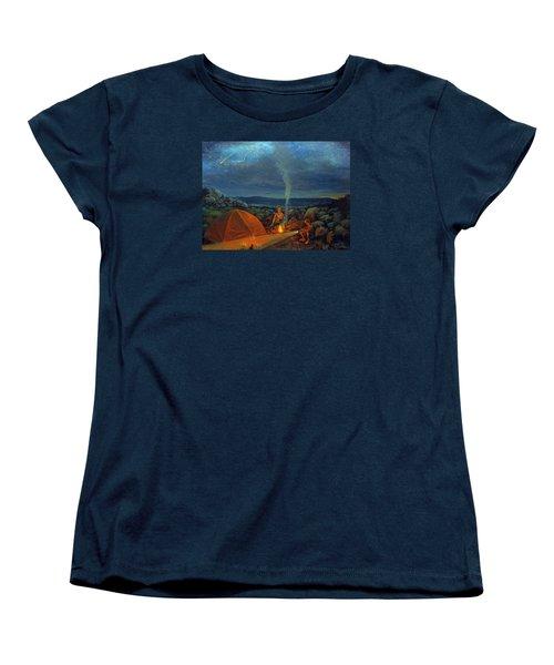In The Spotlight Women's T-Shirt (Standard Cut) by Donna Tucker