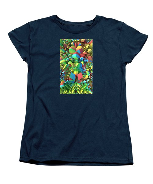 Women's T-Shirt (Standard Cut) featuring the digital art In The Tropics by Lyle Hatch