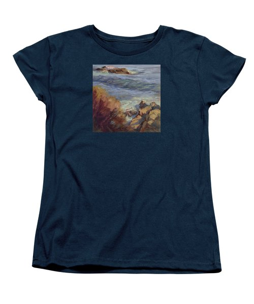 Incoming Wave Women's T-Shirt (Standard Cut) by Jane Thorpe