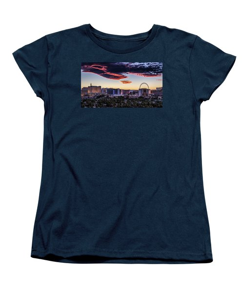 Independence Day Women's T-Shirt (Standard Cut) by Michael Rogers