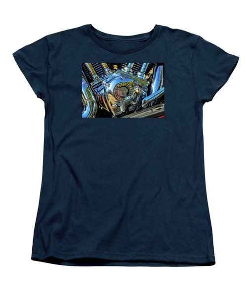 Indian Motor Women's T-Shirt (Standard Cut) by Keith Hawley