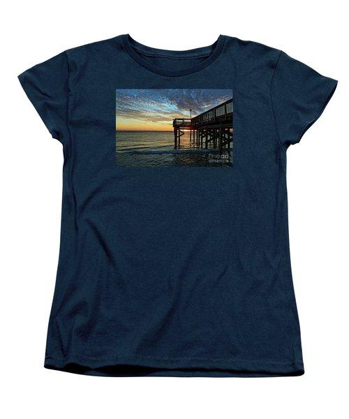 Indian Rocks Sunset Women's T-Shirt (Standard Cut) by Paul Mashburn